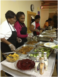 church thanksgiving dinner